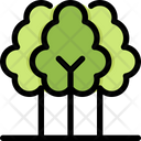 Tree Ecology Save Icon