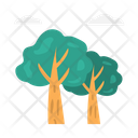 Tree Clouds Summer Icon