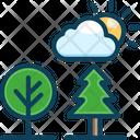 Summer Christmas Tree Tree Icon