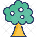 Nature Summer Tree Icon