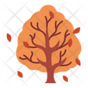 Autumn Fall Leaf Icon