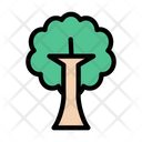Tree Halloween Scary Icon