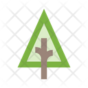 Tree Triangular Icon