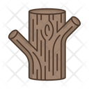 Tree Trunk Bark Icon