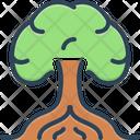 Basis Tree Trunk Icon