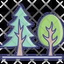 Eco Generic Trees Nature Concept Icon