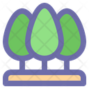 Tree Forest Leaf Icon