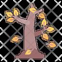 Tree Leaves Fall Icon