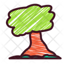 Tree Green Hand Icon
