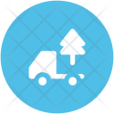 Tree Delivery Truck Icon