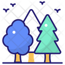 Tree Forest Plant Icon