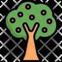 Tree Apple Plant Icon