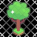 Greenery Tree Shrub Icon