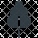 Tree Yard Shrub Icon