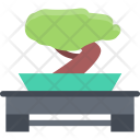 Low Table Tree Icon