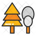 Tree Pine Cypress Icon