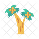 Tree Fruit Garden Icon