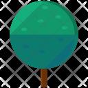 Circle Tree Greenery Icon