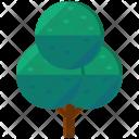 Tree Circles Greenery Icon