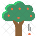 Tree Plant Fruit Icon