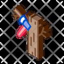Tree Ax Lumberjack Icon