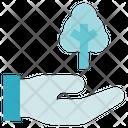 Charity Donation Tree Donation Icon