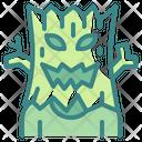 Tree Evil Horror Halloween Icon