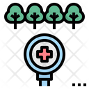 Forest Health Check Icon