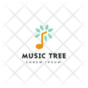 Music Tree Tree Tag Tree Label Icon