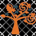 Generic Tree Spirals Icon