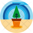 Tree Planting Plant Icon