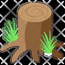 Tree Stump Icon
