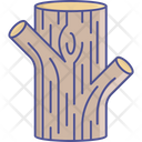 Environment Log Tree Trunk Icon