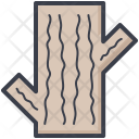 Log Trunk Tree Icon