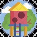 Treehouse Childhood Fun Icon