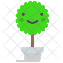Treepot Pot Plant Icon