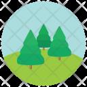 Trees Greenery Icon