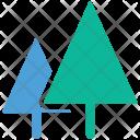 Trees Fur Ecology Icon