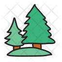Trees Pine Forest Icon