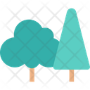 Trees Garden Forest Icon