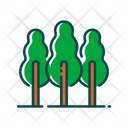Trees Nature Ecology Icon