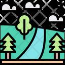 Trees Nature Adventure Icon