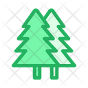 Christmas Trees Pine Trees Nature Icon