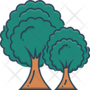 Trees Plant Foliage Icon
