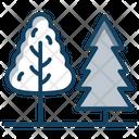 Trees Nature Conifer Icon