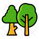 Trees Forest Woodland Icon