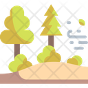 Trees Forest Scenery Icon