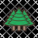 Trees Coniferous Icon