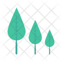 Trees Nature Forest Icon