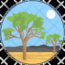 Trees Landscape Icon